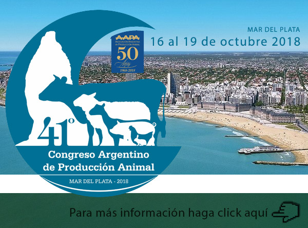 41 Congreso de Producción Animal